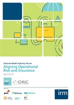 Aligning operational risk and insurance