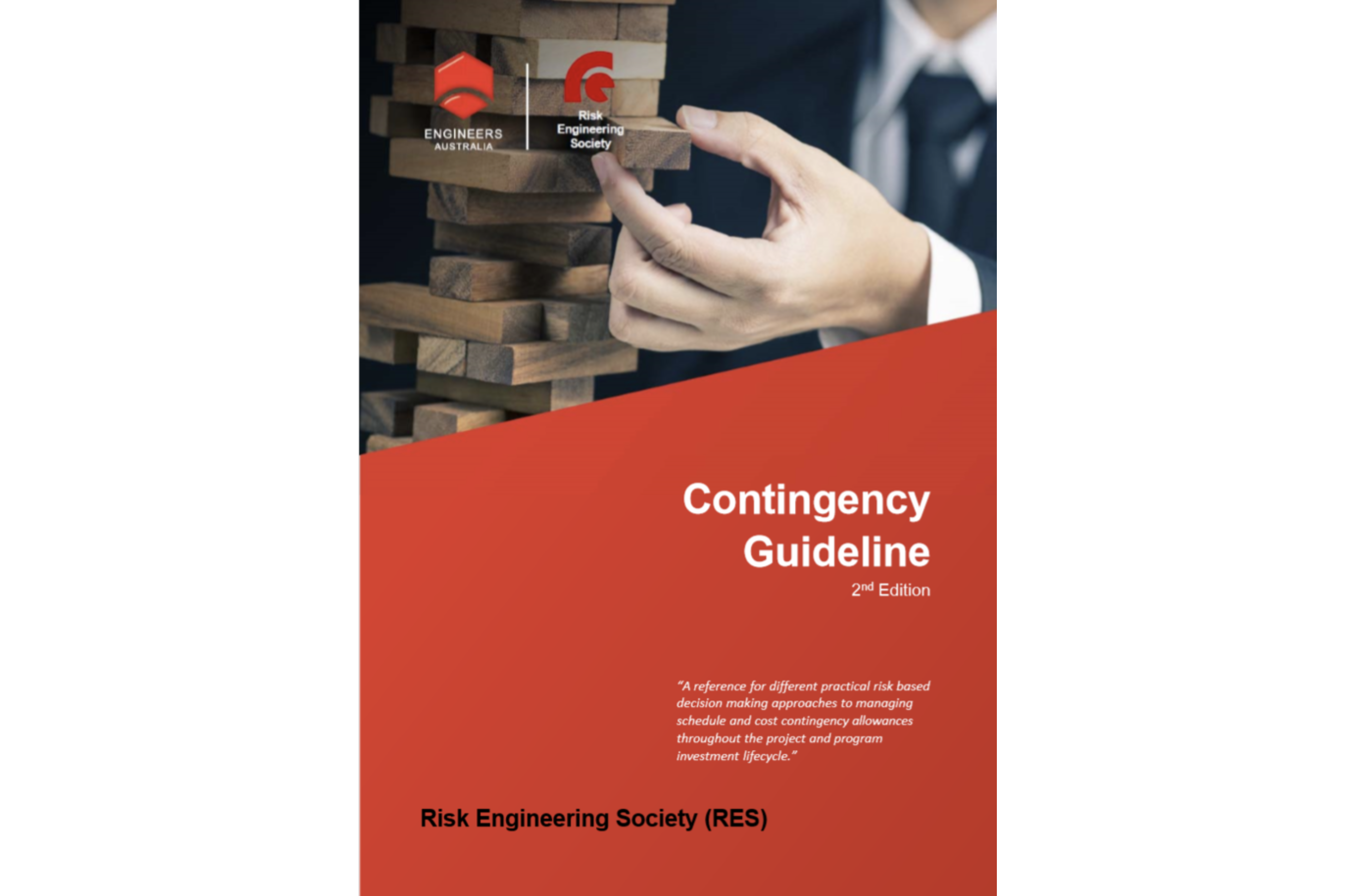 IRM endorsement of the Engineers Australia RES Contingency Guideline 2nd Ed
